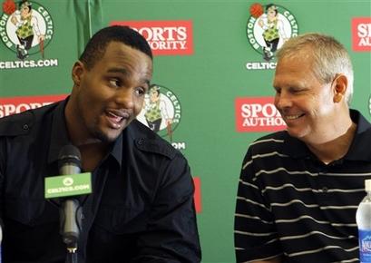 Celtics Davis Basketball