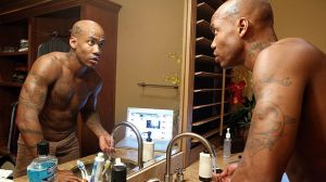 Starbury examining the man in the mirror.